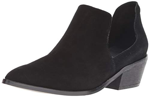 Black Chinese Laundry High Boots - Chinese Laundry Women's Focus Chelsea Boot, Black Suede, 7 M US