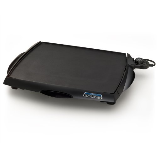 Presto 07046 Tilt 'n Drain Big Griddle Cool-Touch Electric - Stores Outlets At Lee