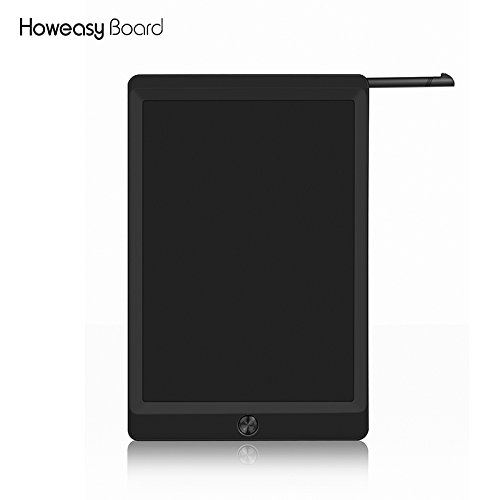 SASA 10-inch LCD writing Tablet -flexible liquid crystal technology does not hurt the eye drawing pad gifts for kids Scribble 'n Play Family message board - Erase Button Lock Included by SASA (Image #1)
