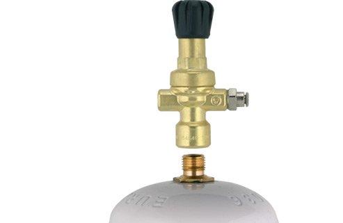 Ré ducteur de pression CO2/argon/Mix soudure Oxyturbo bouteilles jetables art. 215000 attaque M10 x 1RH