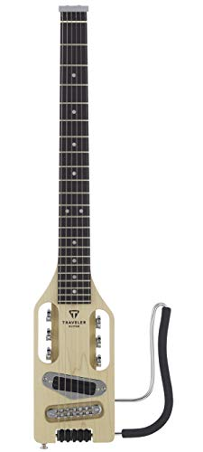Traveler Guitar Ultra-Light Solid-Body Electric Guitar (ULE MPS),Maple