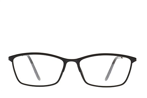52da1788ecc Massimo Milano Jane Vintage Style Oval Eyeglasses Frame Clear Lens (black)