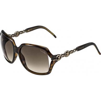 Gucci Sunglasses - 3584 / Frame: Havana Lens: Brown - Designer Gucci Sunglasses