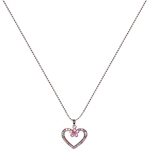 1-x-1-multi-color-rhinestones-sweetheart-on-15-ball-chain-3-extn-adorable-in-multi-pastel-with-silve