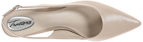 Trotters Per Donna Prima Dress Pump Nude Mini