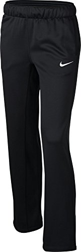 Girl's Nike Therma Training Pant Black/White Size Medium