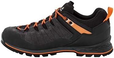 skate shoes on feet images of detailed look Jack Wolfskin Scrambler XT Texapore Low Men's Waterproof ...