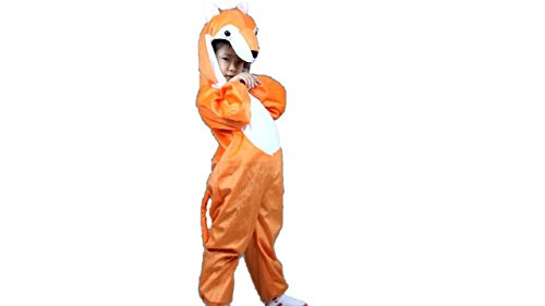 Kids Animal Costumes Boys Girls Unisex Pajamas Fancy Dress Outfit Cosplay Children Onesies (L (for Kids 41.5
