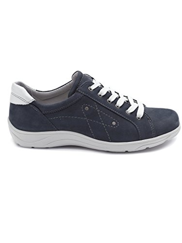 Pediconfort - Zapatos de Cordones Mujer Azul