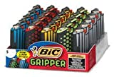 Bic Mini Jr Size Gripper Case with Lighter 25 Pieces Per Tray