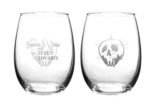 Disney Collectible Wine Glass Set (Snow White)