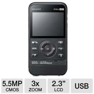 Samsung W300 Waterproof Pocket Camcorder - Manufacturer Refurbished