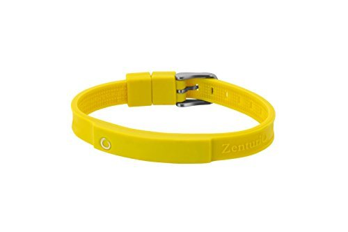 Zenturio Limited Colur Up Banana Yellow Edition exclusive magnet/ion / health bracelet – TÜV Rheinland Germany certified – For your health and wellbeing - Without Etui by Zenturio