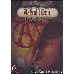 the scarlet letter audio book series 6 cd set nathaniel hawthorne tiffany clark mark farber amazoncom books
