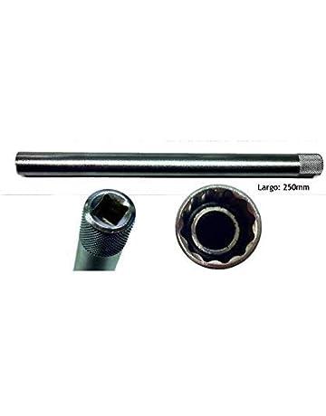 JBM 52317 Llave de bujía imantado, 16 mm