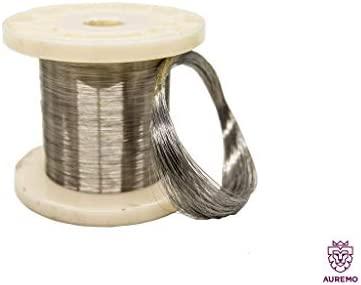 Alambre de muelle de acero inoxidable, 0.1-1.5 mm, 1.4310, 1 ...