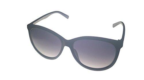 Kenneth Cole Reaction KC1274-01B Shiny Black/ Smoke Gradient Lenses - Cole Reaction Sunglasses Women's Kenneth