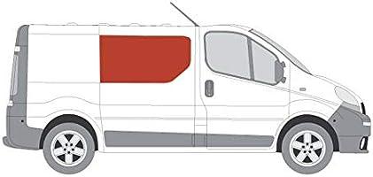 Mano derecha, tintado oscuro fijo ventana para puerta corredera panel OPP. Nissan Primastar: Amazon.es: Coche y moto
