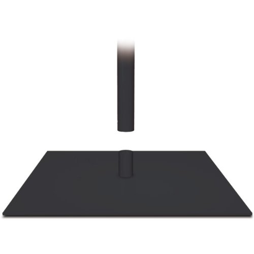 Adjustable Classic Banner Stand - Matte Black