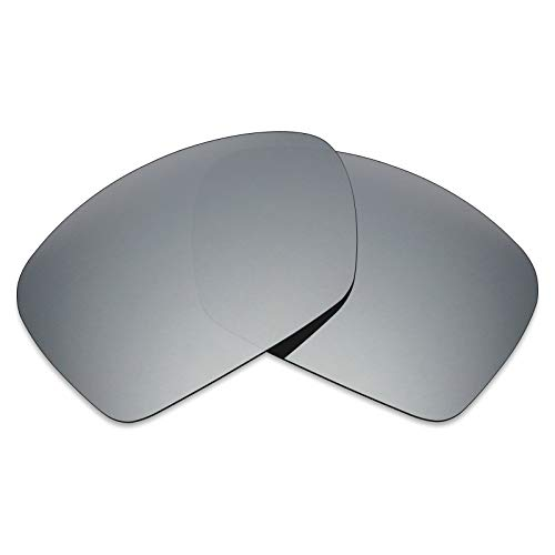 Mryok Polarized Replacement Lenses for Oakley Plaintiff Squared - Silver ()