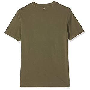 Napapijri Men's Sevora New Olive Green T-Shirt