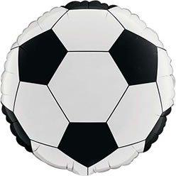 Round Fill Pour Foil nbsp;cm L'hélium 7 De Football Ballon 45 aUzxw0