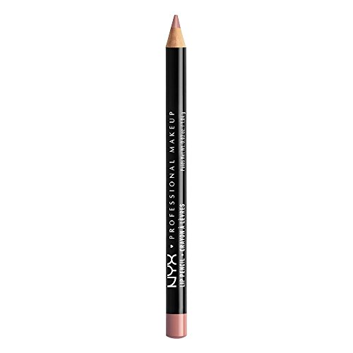 NYX PROFESSIONAL MAKEUP Slim Lip Pencil, Pale Pink, 0.03 - Liner Lip Pink Pencil
