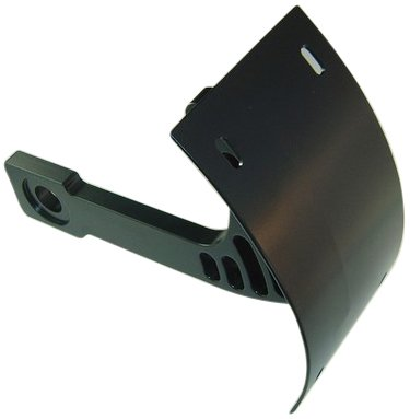 Yana Shiki YS2549048 Black Swing Arm Mount License Plate Tag Bracket for Yamaha Warrior