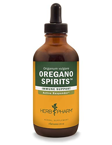 Herb Pharm Oregano Spirits Extract and Essential Oil Blend for Immune Support - 4 Ounce