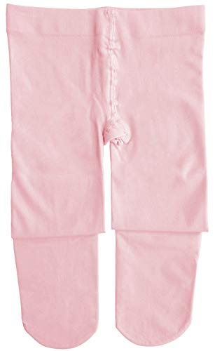 Dancina Ballet Tights Girls Ballerina Costume Pretty Soft Dance Leggings M (6-8) Pink