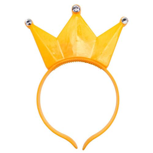 The Electric Mammoth 1 PC LED Light Up Flashing Crown Headband - Yellow