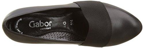 Gabor Sovereign Low Heel Court Shoes In Black Black (57 Schwarz) lOvIPs