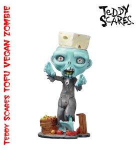 TOFU - The Vegan Zombie Halloween Prop - Vegan Zombie Costume