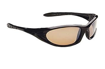 Phantom - Lunettes de soleil polarisées - Modèle homme sport - Monture noire verres  fumés 41cedcf095ba