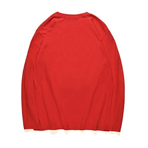 Pas Soldes La Top Longues Ananas Rugby 5 Pull Manches Polo Gris Homme Haut Winjin Shirt T Mode Slim shirt Rouge Cher À Sweatshirt Tee Chemise Blouse Sweat Fit Imprimé qgn0t4O