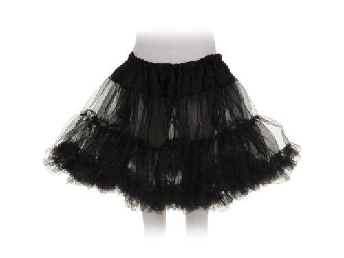 Little Girls Tutu Skirt (Black Swan Ballerina Halloween Costume)
