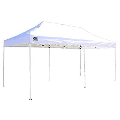 ShelterLogic 167566DS Quick Shade Canopy in White - 10 x 20 ft. : Garden & Outdoor