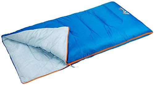 Schreuders Sr out Jr Saco de Dormir Acampada y Senderismo Infantil, Juventud Unisex, Azul (Azul)
