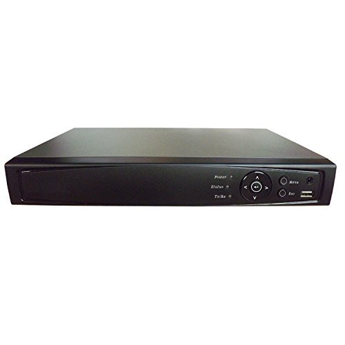 101AV 16CH Surveillance Digital Video Recorder HD-TVI/AHD H264 Full-HD DVR 1TB HDD HDMI/VGA/BNC Video Output Cell Phone APPs for Home & Office Work @1080P/720P TVI, 1080P AHD, Standard Analog& IP Cam
