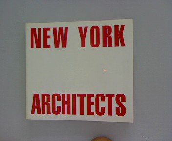 New York Architects, 3 Volumes