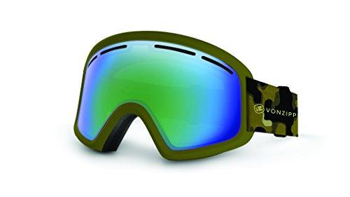 VonZipper - Dba Trike Ski Goggles, Olive Camo Satin/Quasar ()