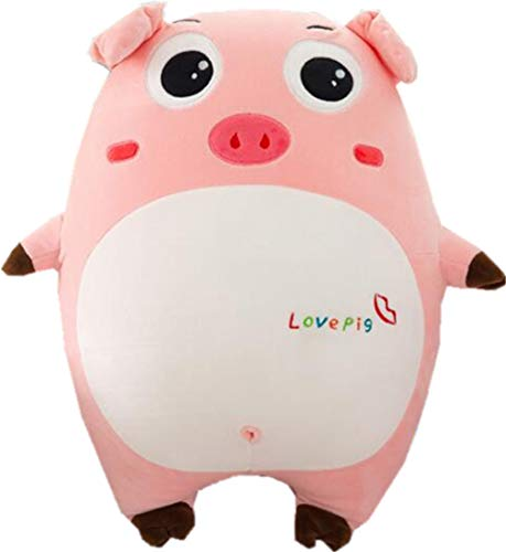 Pink Pig Expression Pig Pillow Plush Toy Soft Down Cotton Cute Pig Pillow Gift