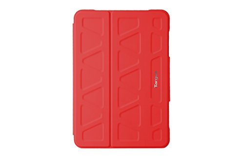 Targus 3D Protective Case and Stand for iPad Mini 1/2/3/4, Red (THZ59503GL)