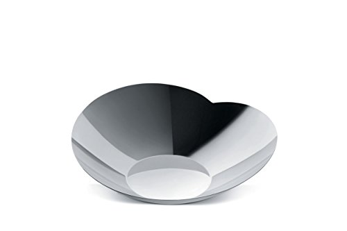 Alessi BMGS01/22 Human Collection,Salad Bowl S, Silver by Alessi