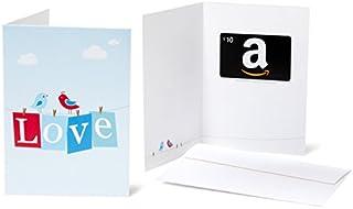 Amazon.com $25 Gift Card in a Greeting Card (Love Design) (B004Q7CKBK) | Amazon price tracker / tracking, Amazon price history charts, Amazon price watches, Amazon price drop alerts