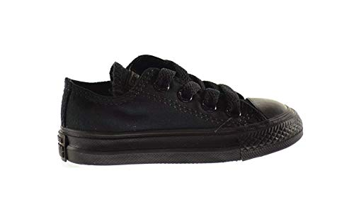 Converse Chuck Taylor OX Baby Toddlers Shoes Black 714786f (3 M US) -