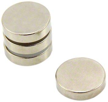 Magnet Expert® 20mm diamètre x 5mm N42 néodyme aimant, 7,3kg force d'adhérence, pack de 4 3kg force d'adhérence Magnet Expert® F205-4
