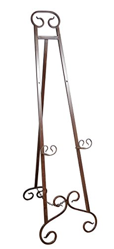 Large Floor Easel - 51 Inches High Metal Floor Easel
