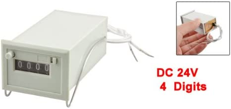 AC 110V CSK4-DKW 4 Digits Totalizer Electromagnetic Pulse Counter