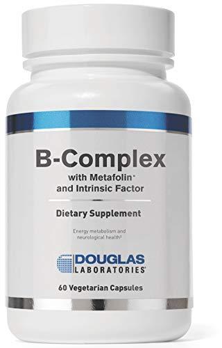Douglas Laboratories® - B-Complex w/ Metafolin - Supports Blood Cells, Hormones, and Nervous System* - 60 Capsules